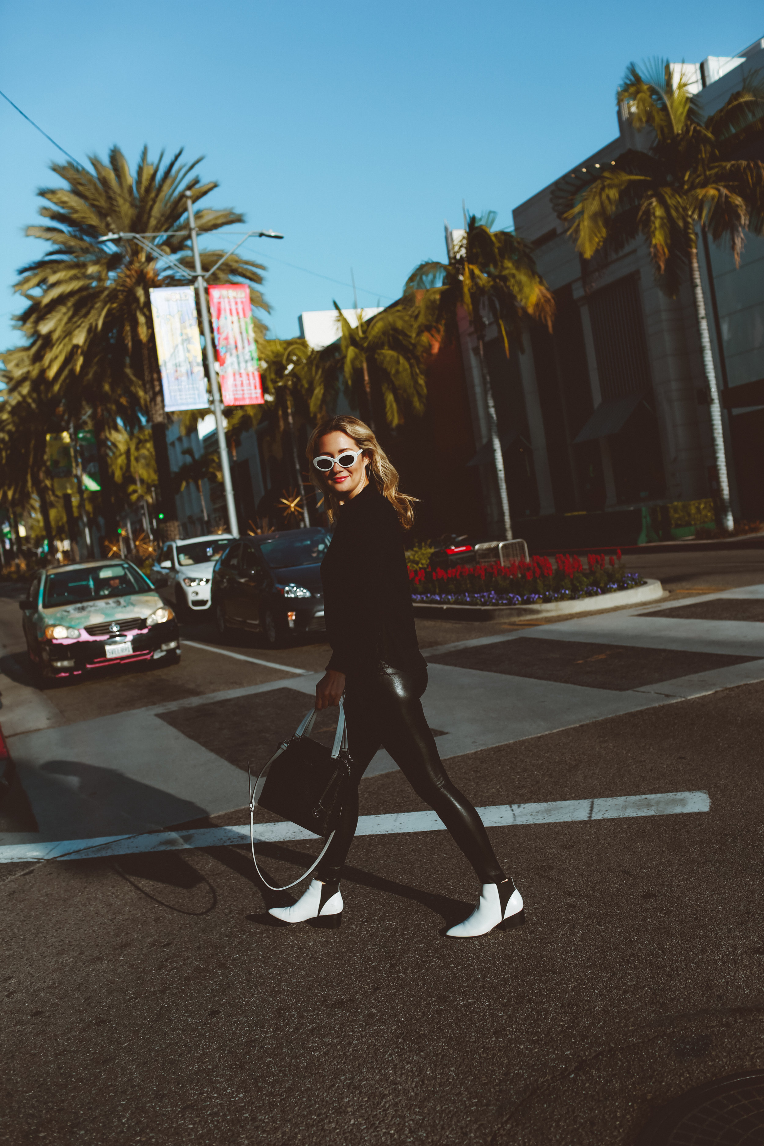 fashion blogger beverly hills // monochromatic outfit // the style sauce blog