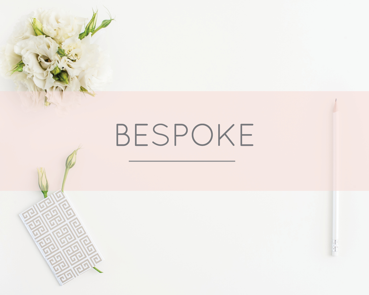 The White Letter offers a bespoke design service for couples that want something completely unique. Your own artwork can be designed from scratch for a small extra charge.   Get in touch to talk more about your own bespoke stationery.