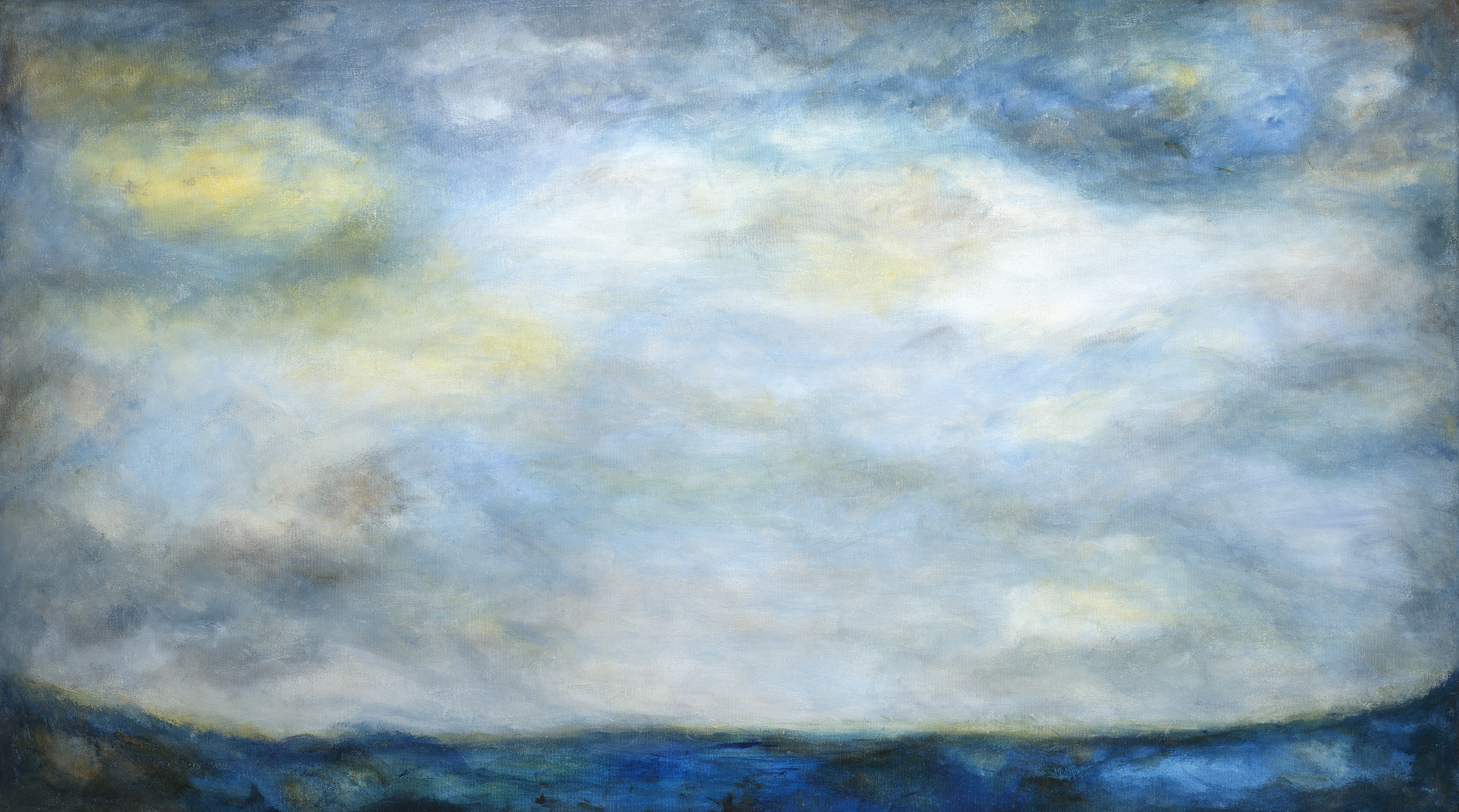 """""""Where the Valley Meets the Sea"""" - 40 x 72"""""""