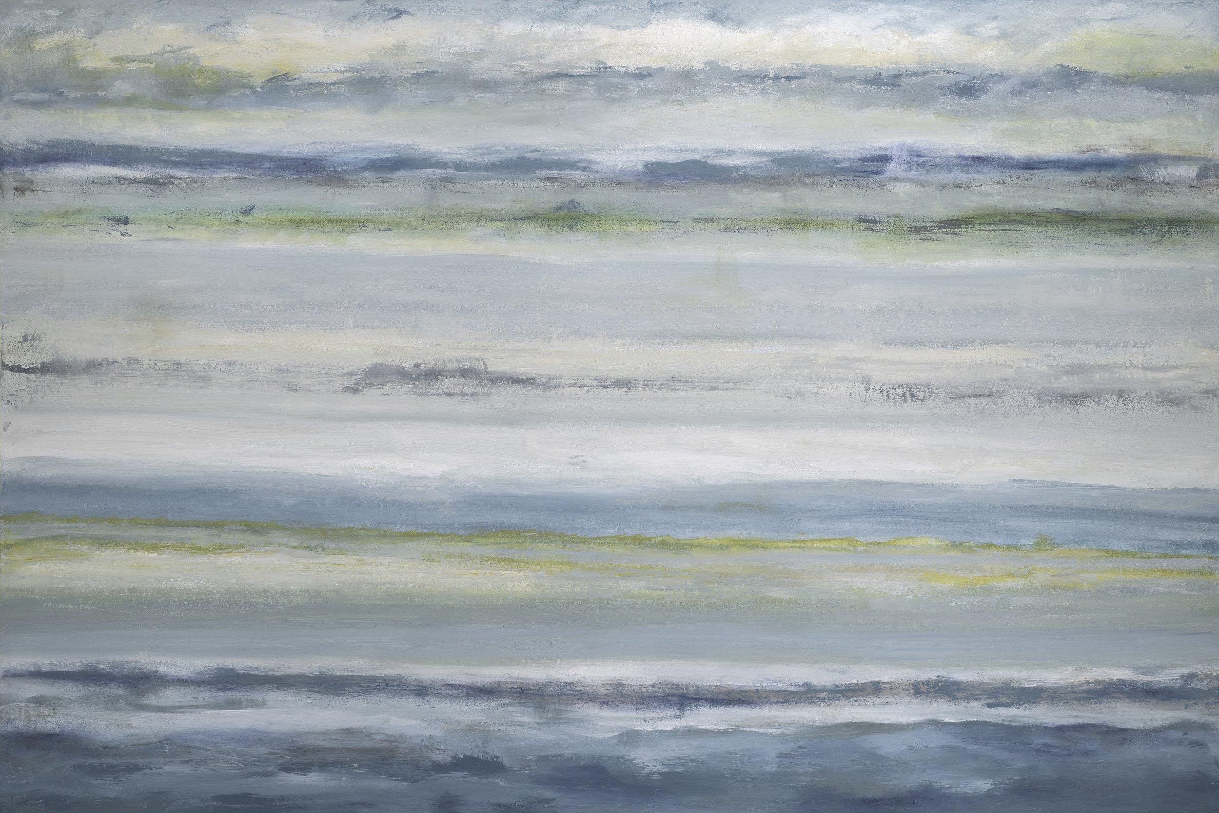 """""""Carmel River Beach Series"""" - 48 x 72"""""""