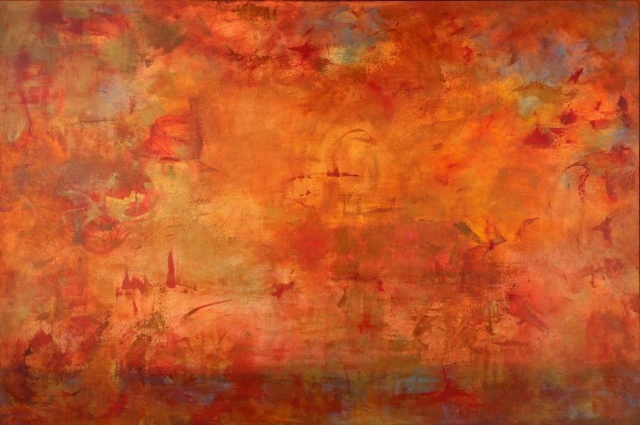 """""""Genius of Ourselves"""" - 48 x 72"""" - Sold - San Francisco, CA"""
