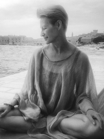 Catherine Robinson | Founder & Designer of Catherine Robinson Cashmere | One of Catherine's favourite photographs taken by her daughter Victoria on a wonderful 'mother and daughter' holiday in Croatia