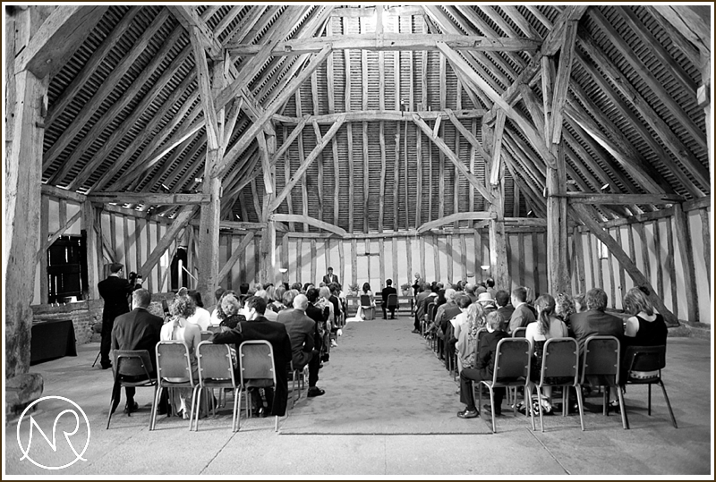 Cressing Temple Barn Wedding