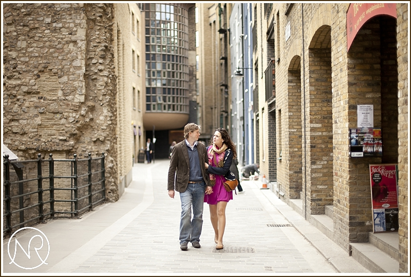Southbank engagement photography London 06