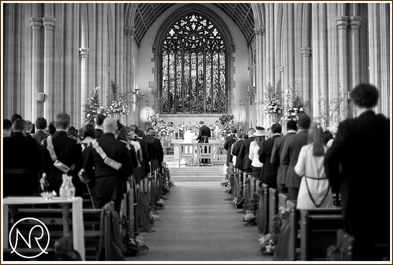 Wedding at St Georges Cathedral