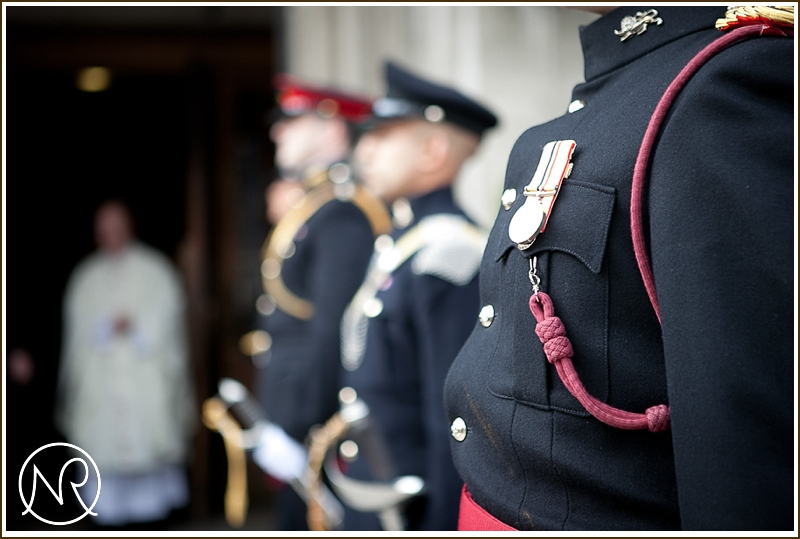 Military Wedding in London