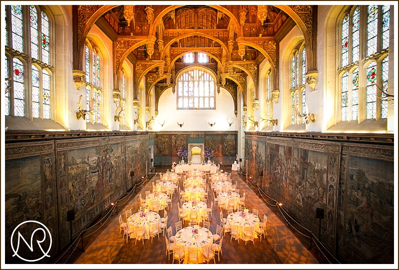 The Great Hall Wedding Hampton Court Palace