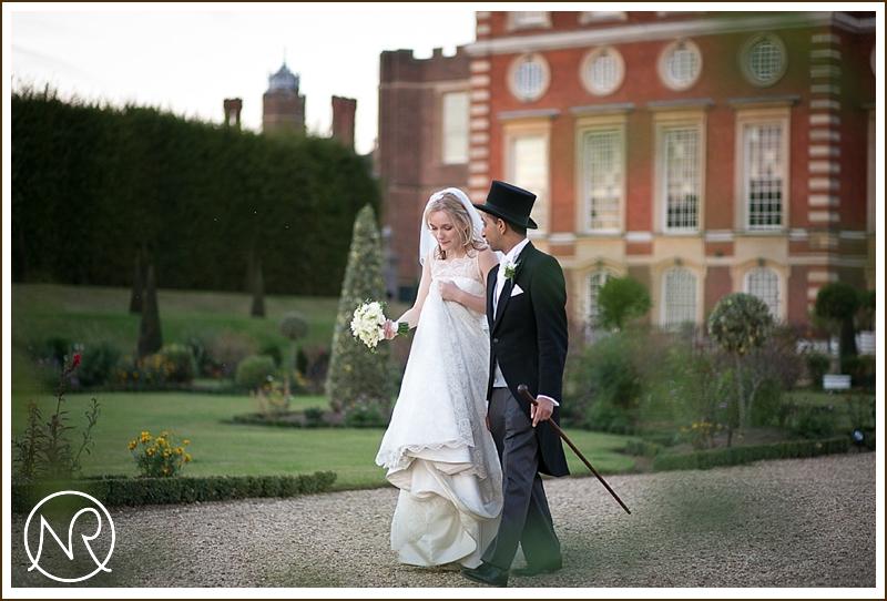Hampton Court Palace Wedding Photographs