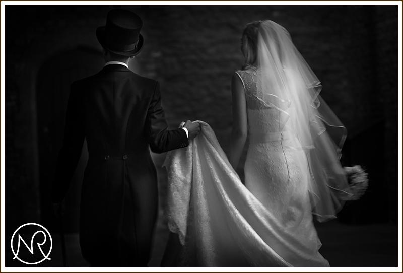 Wedding photography in Hampton Court Palace