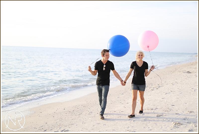 Naples Beach engagement photography Florida 13
