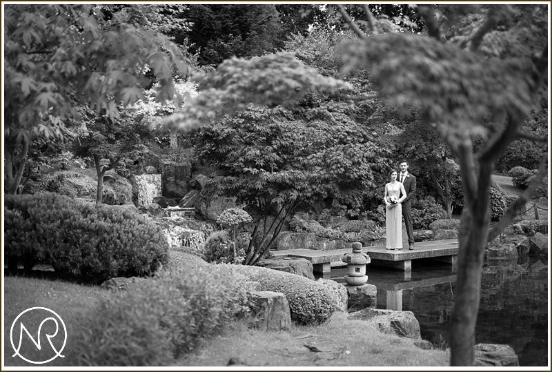 Holland Park wedding photographs