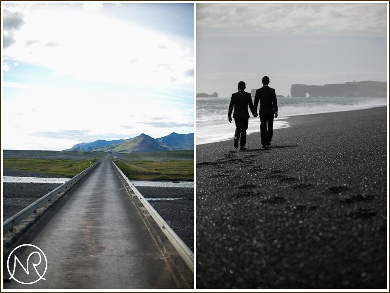 Gay destination wedding photography Iceland