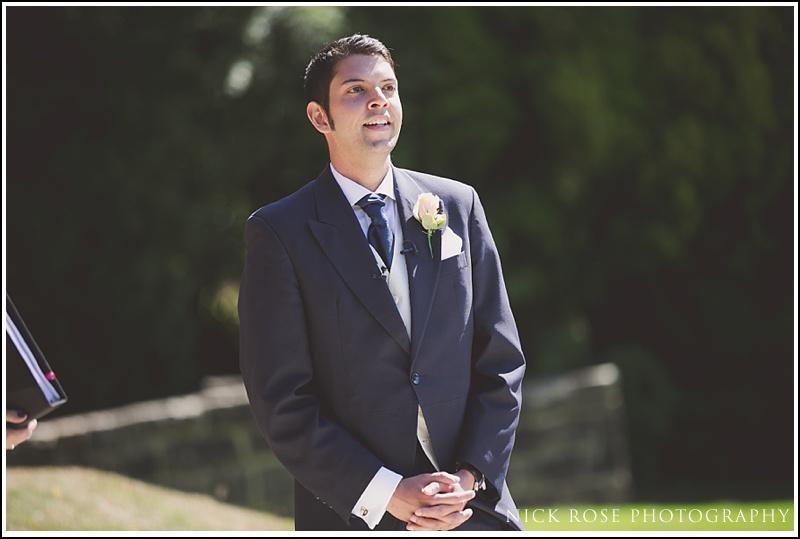 Outdoor wedding at Ashdown Park Surrey