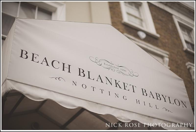 Beach Blanket Babylon Wedding