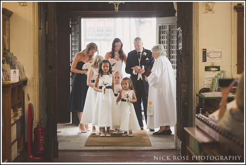 Wedding at St Michael's Church Windhill