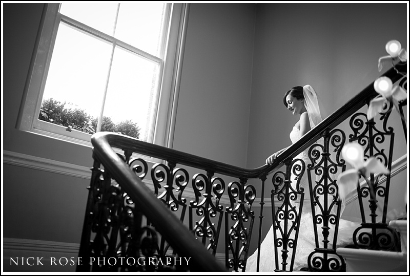 Wedding photographs from Kensington Roof Gardens