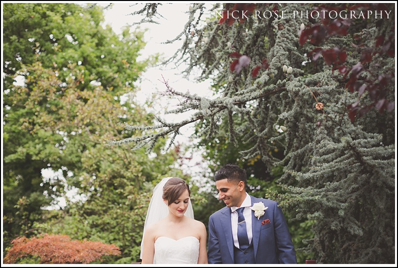 Wedding photography Kensington Roof Gardens London