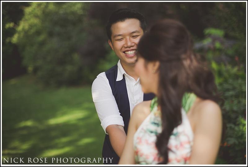 Malaysian engagement photographer London