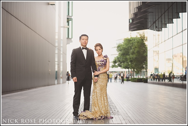 Asian engagement photographer London