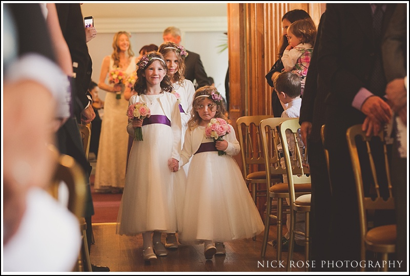 Burgh House Wedding ceremony