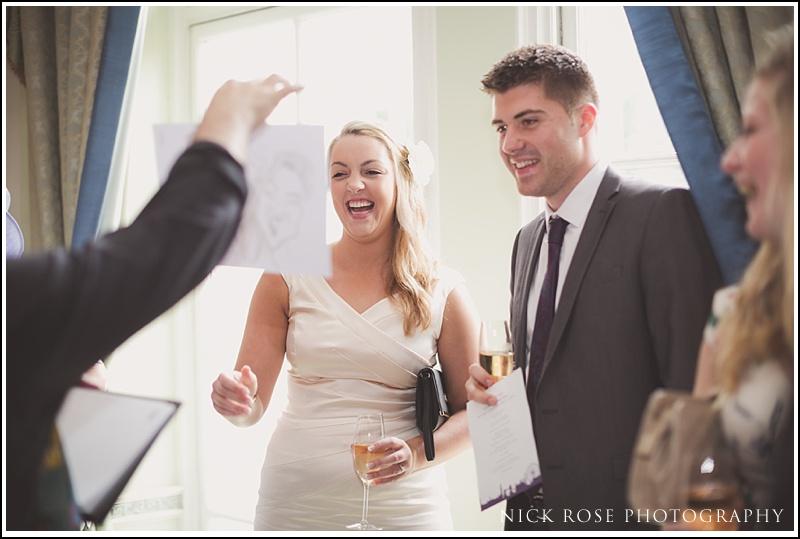 Wedding reception at RAC Club