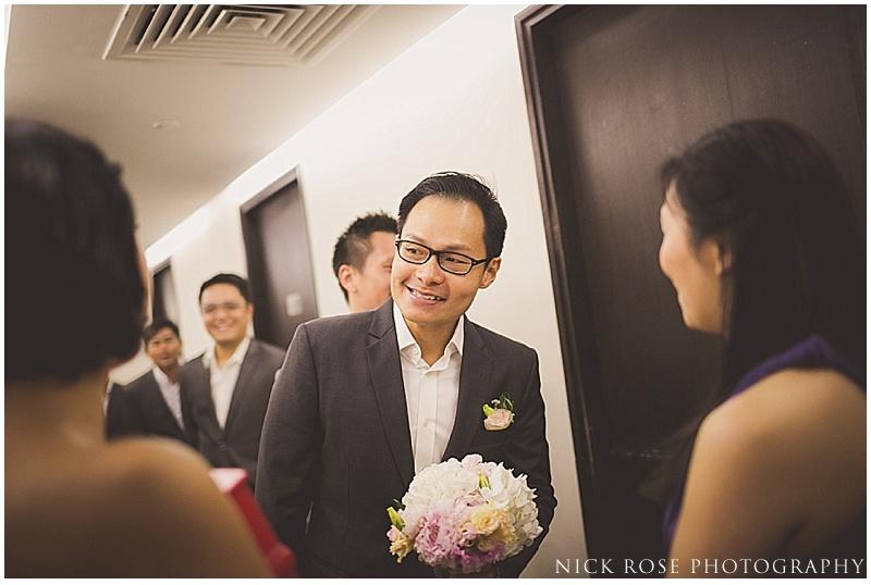 Singapore gatecrashing wedding
