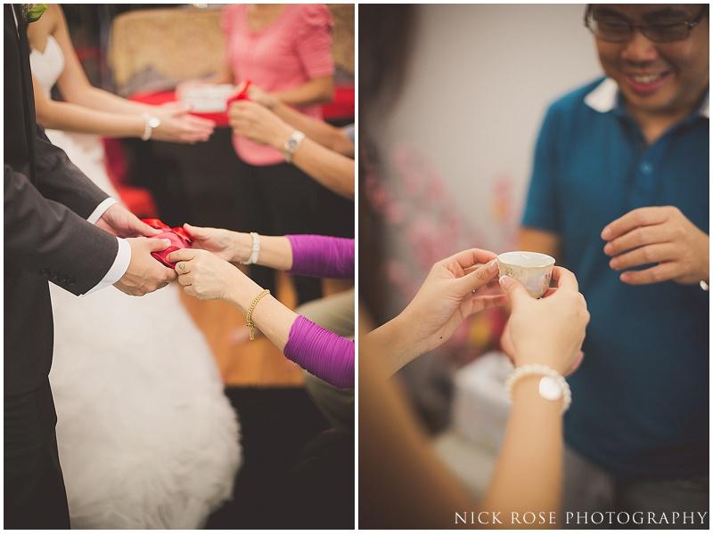 Singapore wedding tea ceremony