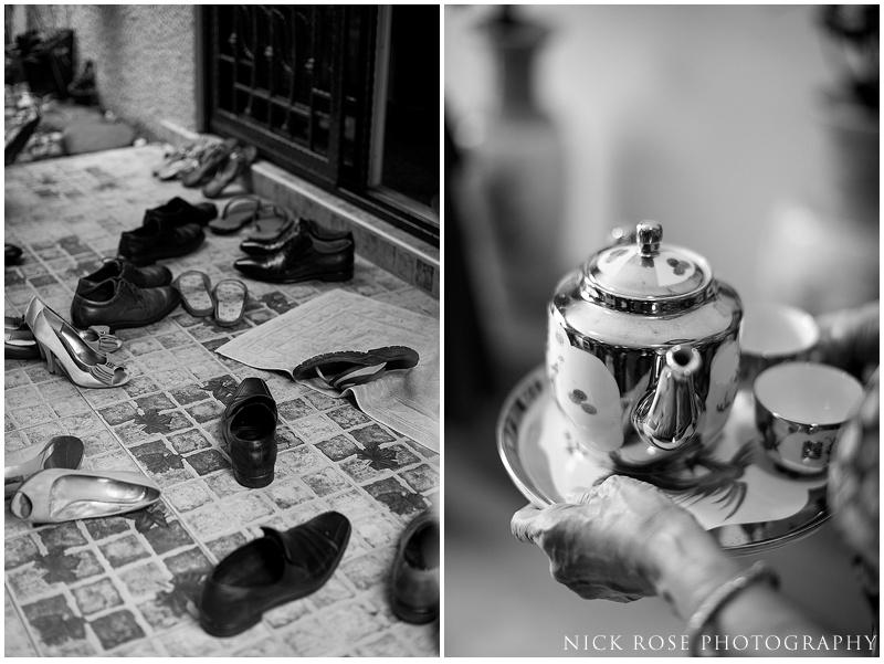 Tea ceremony wedding photos