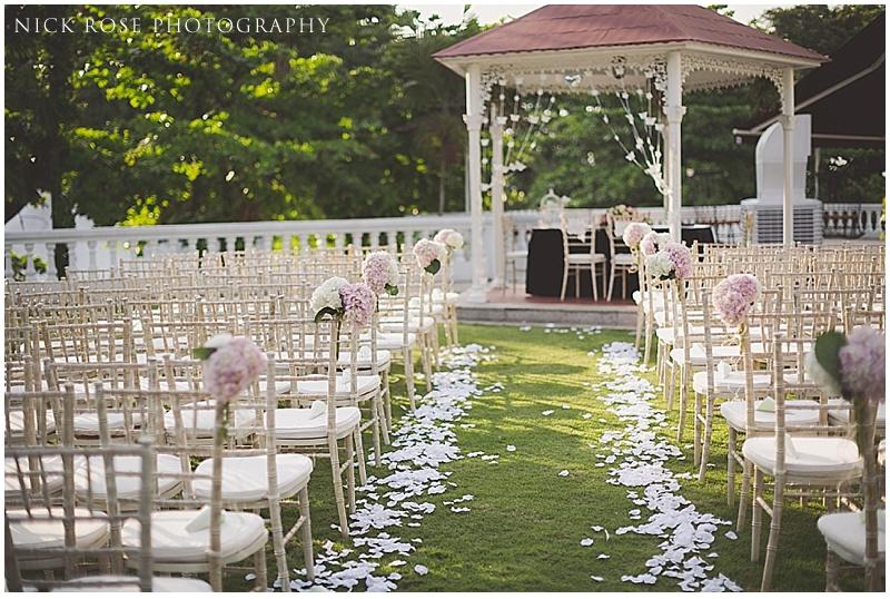 Alkaff Mansion wedding ceremony