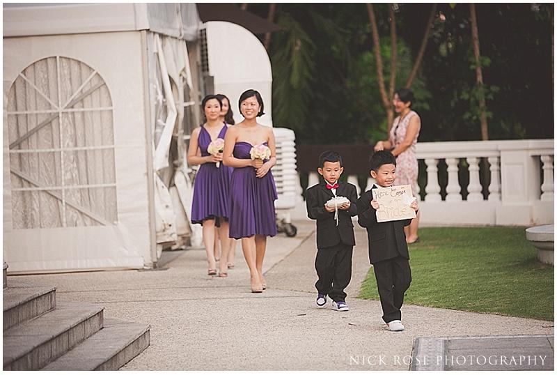 Singapore wedding photo