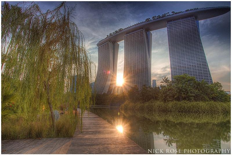 Singapore wedding skyline