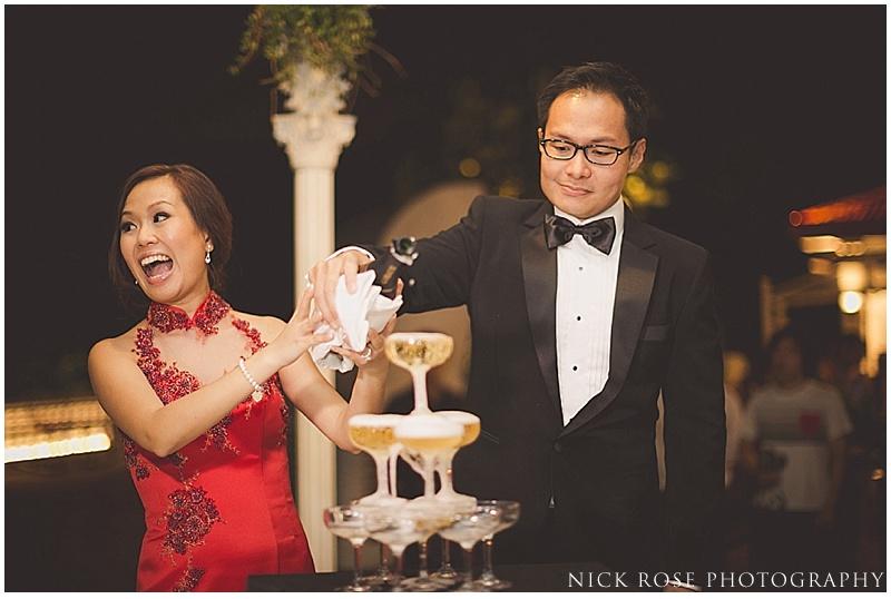 Singapore outdoor wedding