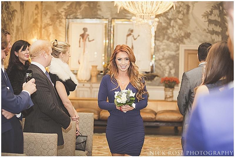 Wedding Bridesmaid at Haymarket Hotel