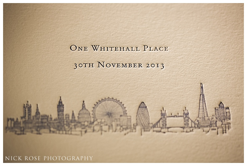 Wedding photography One Whitehall Place