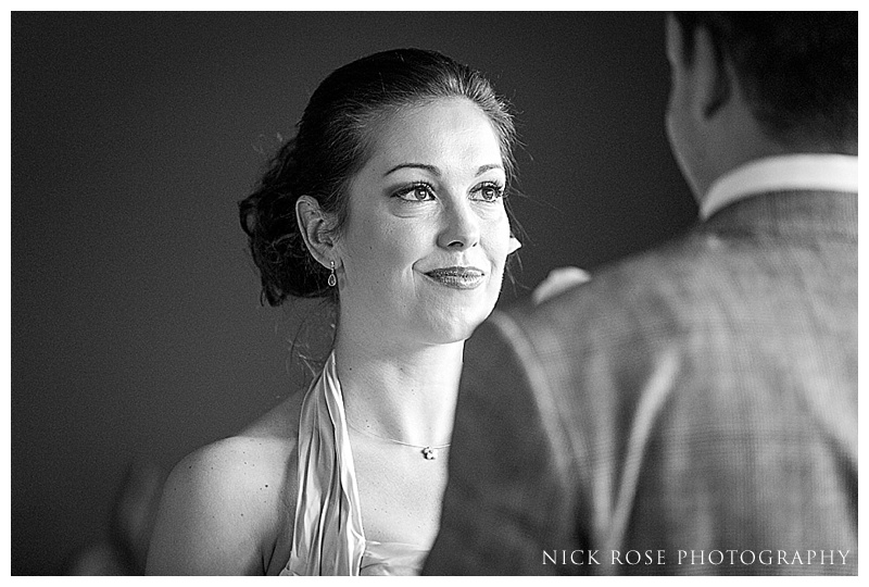 Wedding ceremony at The Manor House Castle Combe