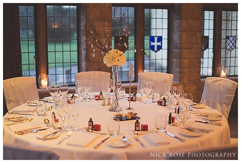Wedding reception at The Manor House Castle Combe