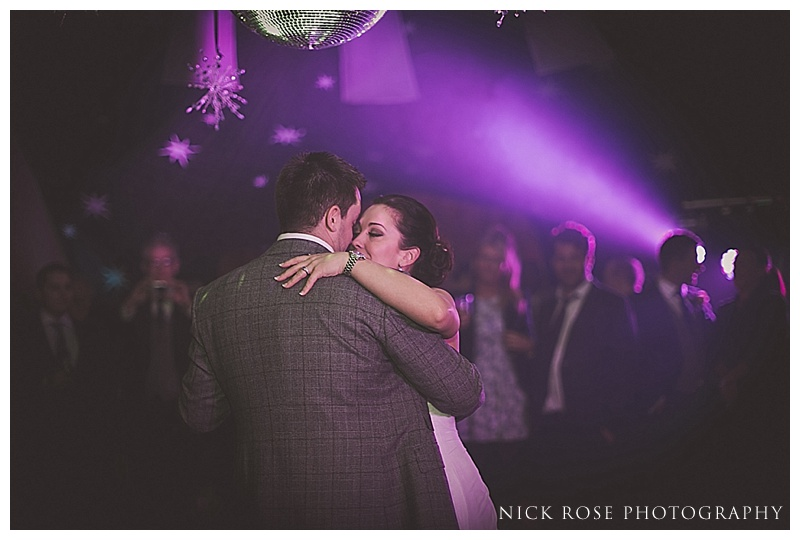 First dance at The Manor House Castle Combe