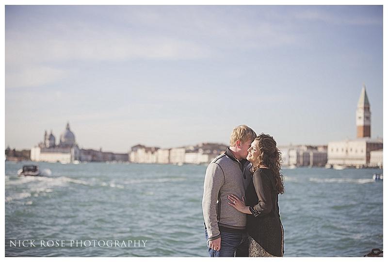 Venice engagement photo
