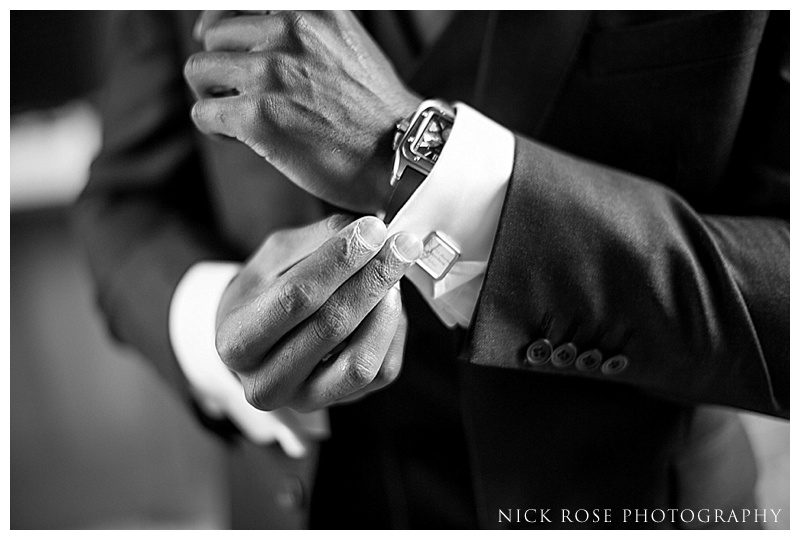 Groom getting ready at Waddesdon Manor