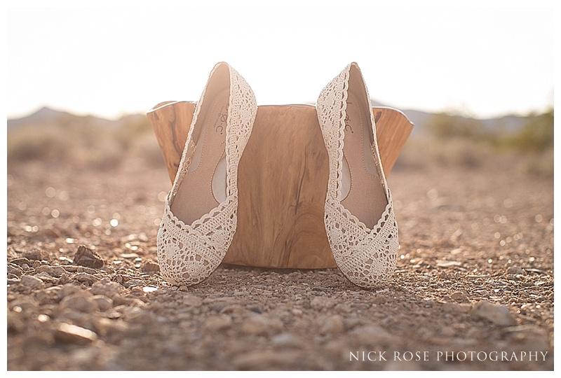 Nevada desert wedding photography shoot