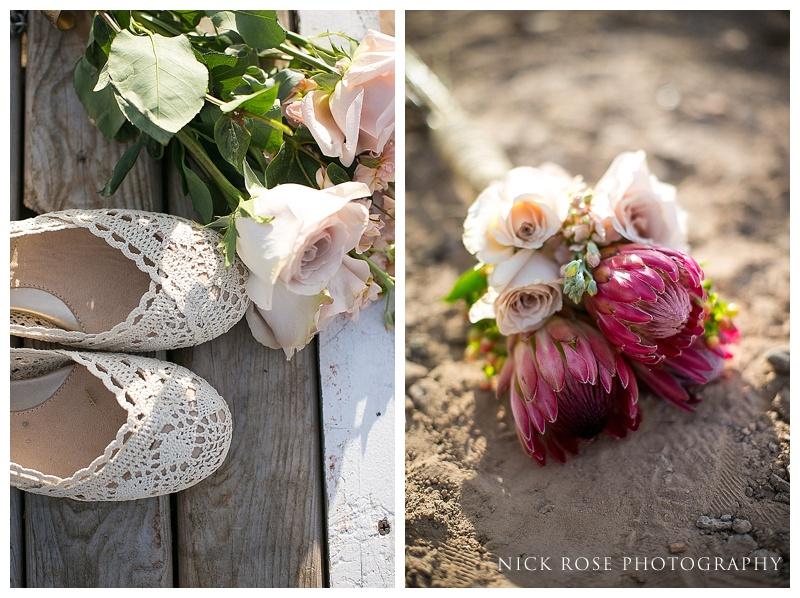 wedding details in the Nevada desert