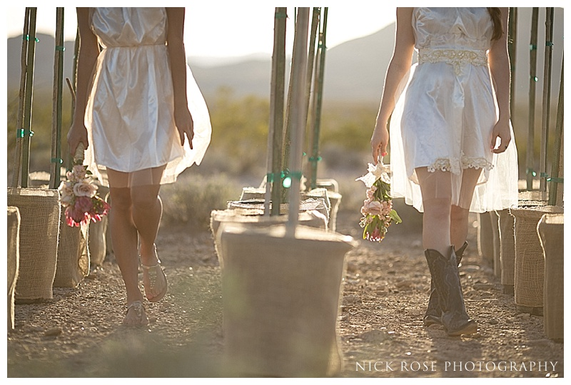 Desert wedding ideas