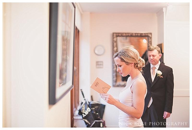 Ramster Hall Surrey Wedding Photo