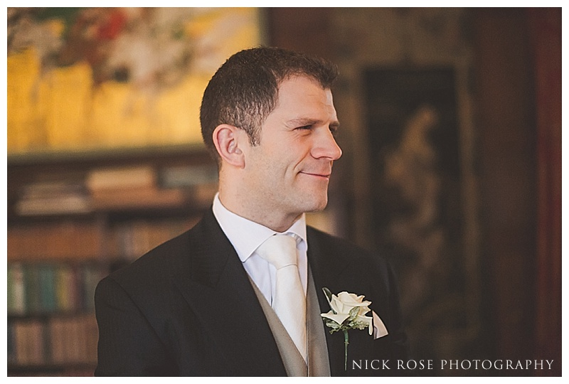 Wedding ceremony at Ramster Hall Surrey