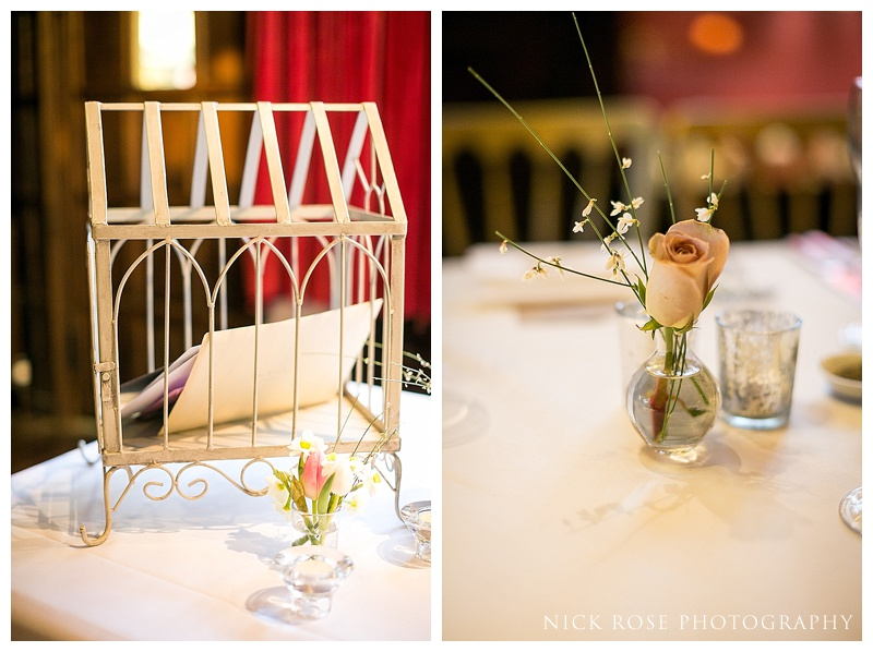 Ramster Hall wedding details