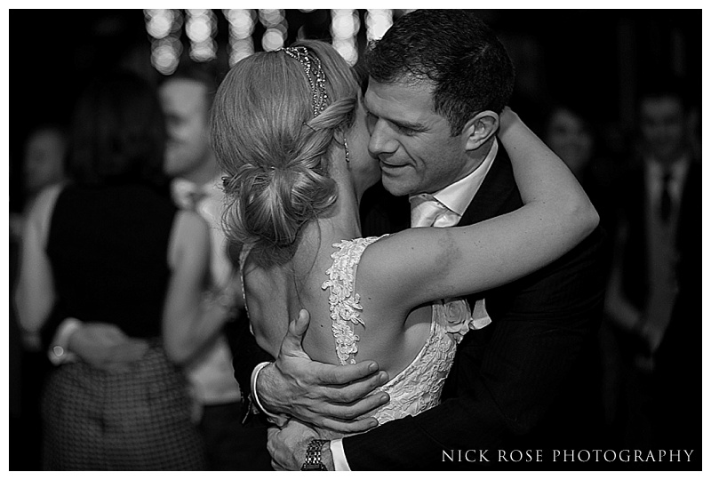 First dance at Ramster Hall wedding
