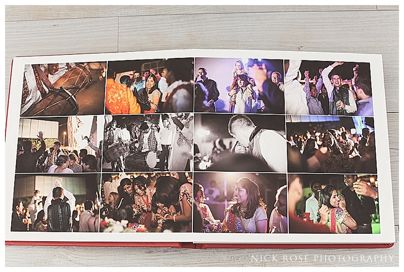 Luxury wedding photography albums