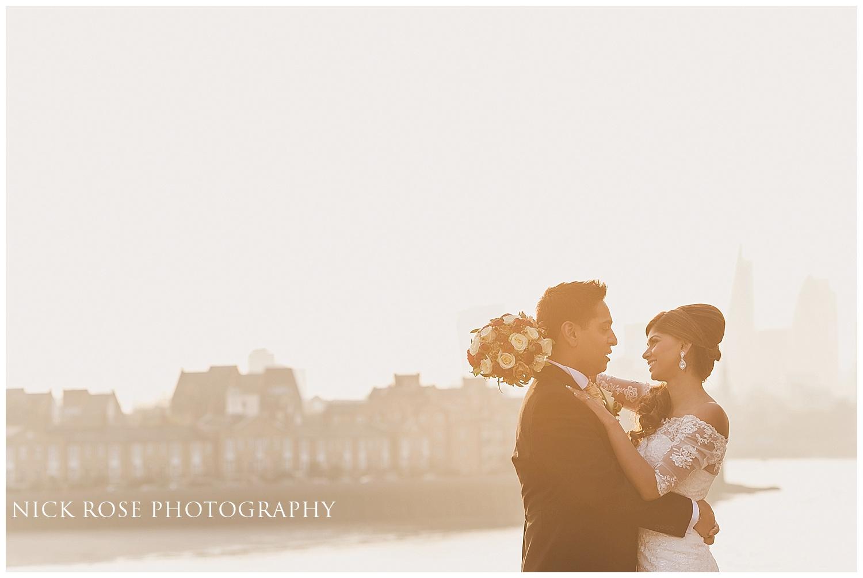 Hilton wedding photography Canary Wharf