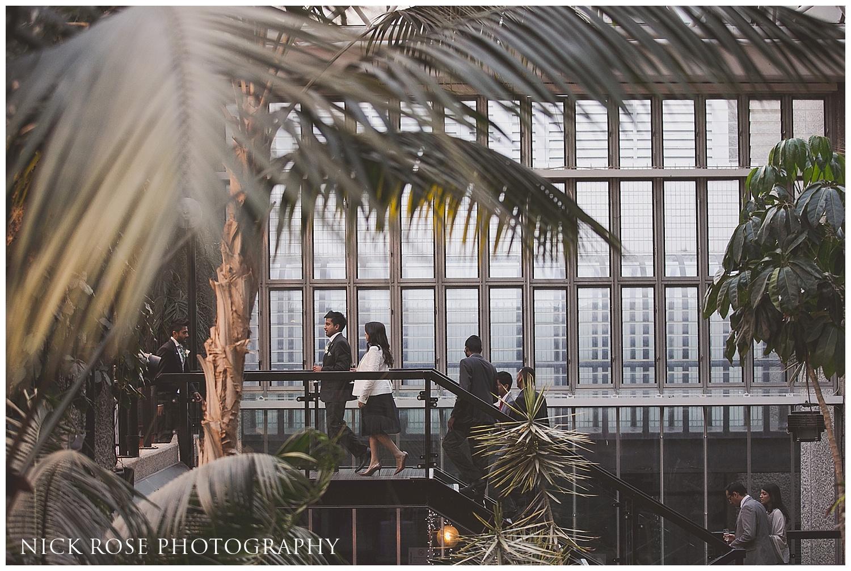 Wedding at the Barbican