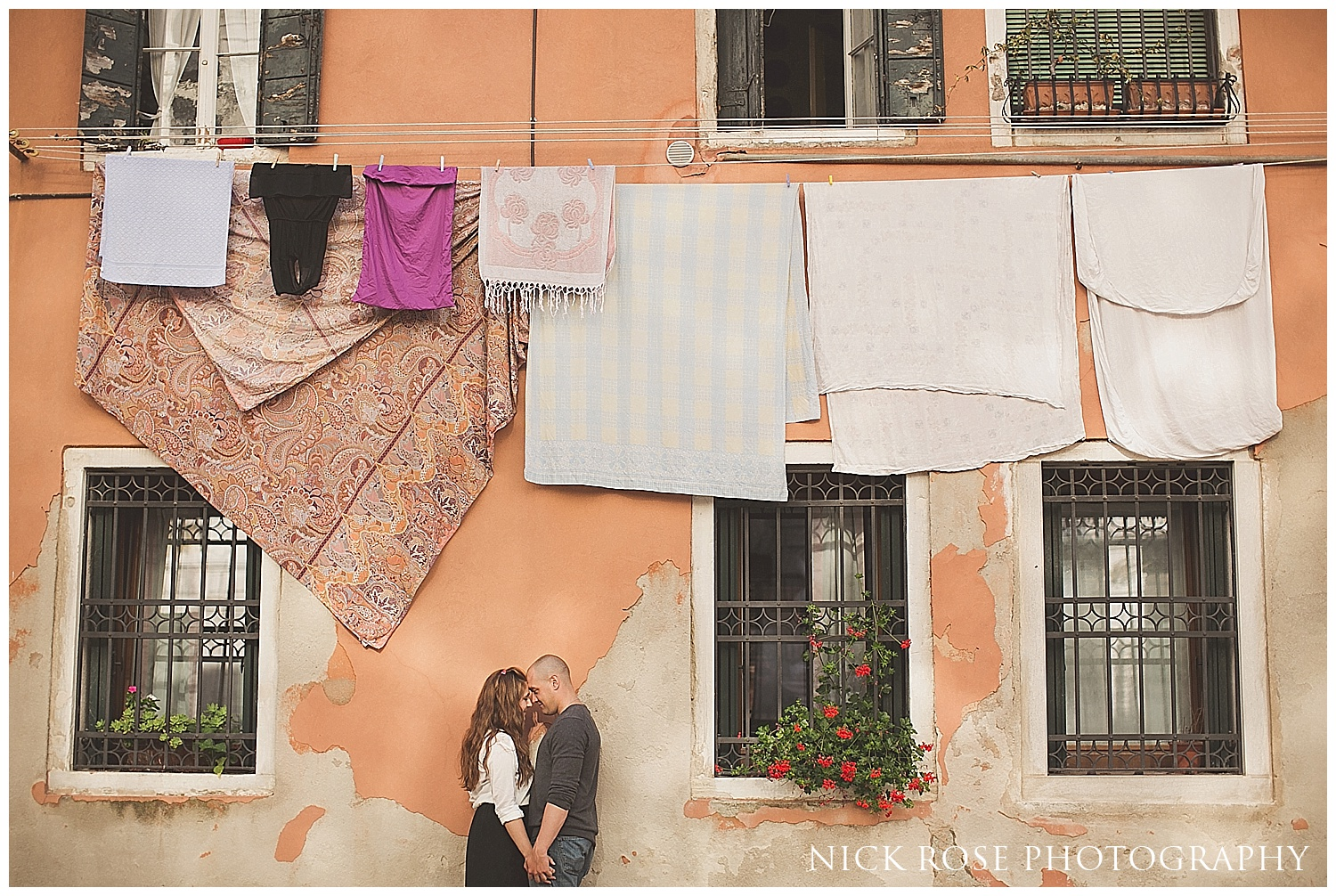 Destination pre wedding photographer Venice